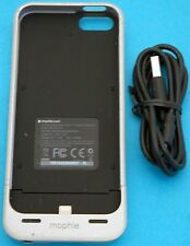 Silver Mophie Juice Pack Helium iPhone 5/5s Case 1500mAh Battery Charger -USED-