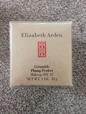 New Elizabeth Arden Ceramide Plump Perfect Makeup Spf15 Shade Honey 09