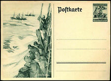 Germany Third Reich 1930's, 6pf+4 Illustrated Stationery Card Unused #C35645