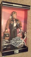 Harley Davidson Motorcycles Collector Barbie Doll 4 NRFB Biker Leather Blonde 99
