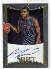 Andre Drummond 12/13 Select on card Auto RC Rookie  #167 Serial #131/149