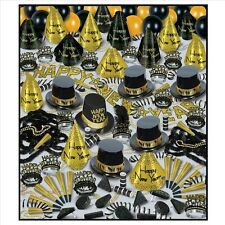 GOLDEN BONANZA New Years Eve Party Kit *Assortment for 100 PEOPLE