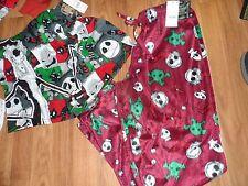 men lounge pajama pj pant & boxer Nightmare before Christmas ~ small Disney