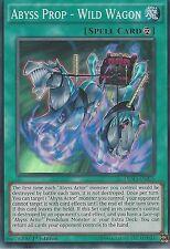 Yu-Gi-Oh tarjeta Super Raro: abismo Prop-Wild Vagón-deso-EN026 1ST Edición