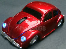 Wireless Volkswagen VW beetle car optical mouse Mice for PC/Laptop XMax's gift