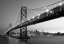 Giant Wall Mural photo wallpaper 366x254cm San Francisco - Oakland Bay bridge