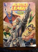 Justice League #8 of 9 Walking on Fire comic books