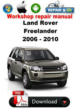 Land Rover Freelander 2006 - 2010 Factory Workshop Repair Manual