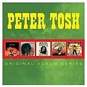 Peter Tosh - Original Album Series 5CD Boxset 5 Full length Albums Parlophone UK