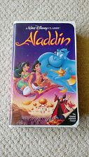 Walt Disney Classic Aladdin VHS Black Diamond