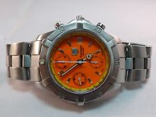 TAG HEUER 2000 Professional 200M Steel Automatic Mens Watch RARE DIAL 1/1