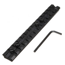 13 Slots 150mm 20mm Picatinny Weaver Rail Scope Mount Fit for Rifle Shotgun New