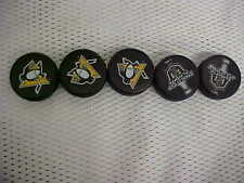 2016 NHL Stanley Cup Playoffs Pittsburgh Penguins Mini Puck Charms Lot of (5)