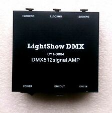 USB DMX512 LED light DMX-Stage Signal Isolation Amplifiers AMP splitter