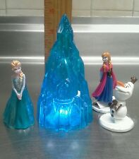 Disney Frozen cake topper 5 piece with lighted base high quality SEALED