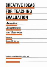 Evaluation in Education and Human Services: Creative Ideas for Teaching...