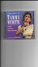 Tammy Wynette The Best Of  Live In Concert  Used