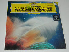 sealed NEW LP jacques OFFENBACH OVERTURE BERLINER karajan BARBE BLEUE gerolstein