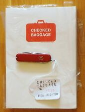 CHRISTIEN MEINDERTSMA - CHECKED BAGGAGE 3264 PROHIBITED ITEMS + SWISS ARMY KNIFE