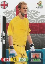 JOE HART # ENGLAND CARD PANINI ADRENALYN EURO 2012