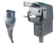 Philips BG2024  Body Groom Power Charger Adapter 3 Pin UK Plug
