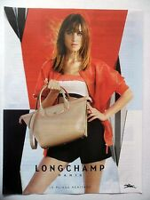 PUBLICITE-ADVERTISING :  LONGCHAMP Pliage Héritage  2015 Sac Beige,Mode
