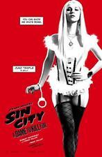 POSTER SIN CITY 2 A DAME TO KILL FOR UNA DONNA PER CUI UCCIDERE JUNO TEMPLE #1