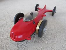 1940's Challenger Jr. rare mite tether race car A.L. Maxey 11 in. McCoy 19 power