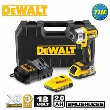 DeWalt DCF886D2 18V BRUSHLESS Impact Driver with 2x 2.0Ah XR Li-ion Batteries,