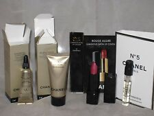 NEW CHANEL 4 items, perfume, mini lipsitck, Sublimage face cream 5ml, eye cream
