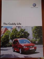 VW Caddy Life brochure May 2007 European market English text