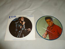 ELVIS A LEGENDARY PERFORMER VOLUME 3 LIMITED EDITION PICTURE DISC RECORD RARE LP
