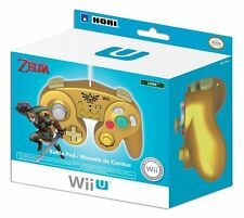 "MANETTE TURBO OFFICIELLE NINTENDO ZELDA SUPER SMASH BROS WII U ""NEUF"" AWIIU5455"