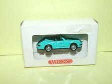 PORSCHE 911 CARRERA 4 CABRIOLET Vert WIKING 16501 HO 1:87