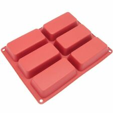 Freshware 6-Cavity Silicone Mini Loaf Pan , New, Free Shipping