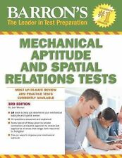 Barron's Mechanical Aptitude and Spatial Relations Test, 3rd Edition by Joel...