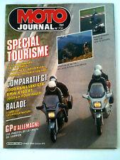 N°751 MOTO JOURNAL  Spécial Tourisme / Comparatif GT