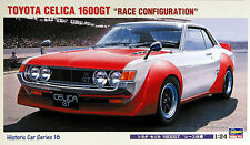 Hasegawa HC-16 Toyota Celica 1600GT Race Configuration 1/24 Scale Kit