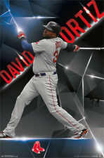 DAVID ORTIZ Boston Red Sox ELECTRIC! Official MLB Baseball WALL POSTER