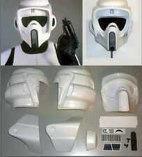Star Wars - Biker Scout Trooper - Helmet Kit - Armor Costume Prop Cosplay