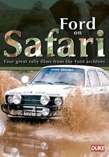 Ford on Safari (New DVD) Rally East African 1964 / 69 / 72 Silver Jubilee 1977