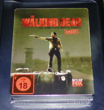 THE WALKING DEAD STAFFEL 3 UNCUT LIMITIERTE STEELBOOK BLU RAY NEU & OVP