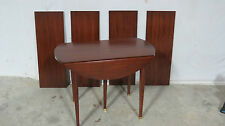 Henkel Harris Dining Room Table Drop-Leaf Unusual Four Leaves