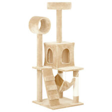 2016 New Deluxe Cat Tree Tower Condo Scratcher Furniture Kitten House Hammock