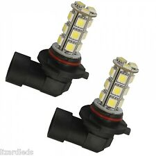 2x 9006/HB4 18-LED 12V Headlight/Fog Light Replacement Bulbs