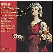 Handel: An Ode for St Cecilia's Day, Robert King, The King's Consort, Very Good
