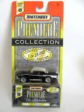 Matchbox Superfast 4d '57 Chevy - Black - Premiere Collection S6 - Mint/Boxed