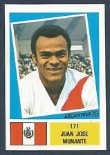 FKS 1978-ARGENTINA 78 -#171-PERU-JUAN JOSE MUNANTE