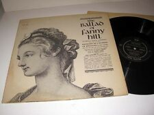 Adult BALLAD OF FANNY HILL Memoirs Of A Woman Of Pleasure FAX FAX-LP5201 NM! 2LP