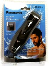ER2403K PANASONIC Wet/Dry Hair & Beard Travel Trimmer, Uses two AAA batteries
